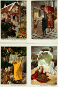 Books:Prints & Leaves, [Fairy Tales]. Group of Fifteen Color Plates Taken From FairyTales of All Nations. Logan Marshall, editor. Phil...