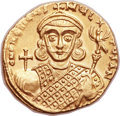 Ancients:Byzantine, Ancients: Philippicus (Bardanes) (AD 711-713). AV Solidus (20mm, 4.37 gm, 6h)....
