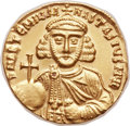 Ancients:Byzantine, Ancients: Anastasius II Artemius (AD 713-715). AV solidus (20mm, 4.39 gm, 6h). ...