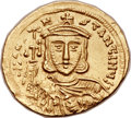 Ancients:Byzantine, Ancients: Constantine V Copronymus (AD 741-775). AV solidus (21mm,4.44 gm, 6h)....
