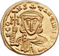 Ancients:Byzantine, Ancients: Constantine V Copronymus (AD 741-775). AV solidus (20mm,4.43 gm, 6h)....