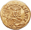 Ancients:Byzantine, Ancients: Michael II the Amorian (AD 820-829), with Theophilus. AV solidus (21mm, 4.43 gm, 5h)....