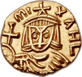 Ancients:Byzantine, Ancients: Michael II the Amorian (AD 820-829), with Theophilus. AVtremissis (12mm, 1.25 gm, 6h)....