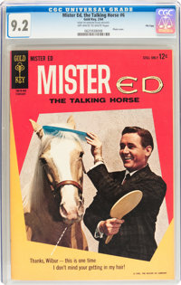 Mister Ed, The Talking Horse #6 File Copy (Gold Key, 1964) CGC NM- 9.2 Off-white to white pages