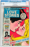 Bronze Age (1970-1979):Romance, DC 100-Page Super Spectacular #5 Love Stories (DC, 1971) CGC VF-7.5 Off-white to white pages....