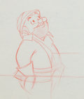 Animation Art:Production Drawing, Beany and Cecil Captain Horatio Huffenpuff ProductionDrawing Animation Art (Warner Brothers, 1962)....