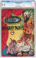 Golden Age (1938-1955):Classics Illustrated, Classic Comics #8 Arabian Nights - First edition - Vancouverpedigree (Gilberton, 1943) CGC FN 6.0 White pages....