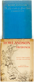 Books:Art & Architecture, [Thomas Rowlandson]. Pair of First Edition Books about Thomas Rowlandson. Various publishers, 1947, 1949. One is limited to ... (Total: 2 Items)