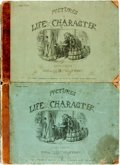Books:Art & Architecture, [John Leech]. John Leech's Pictures of Life and Character. London: Bradbury, Agnew, [1864]. Third and fourth series ... (Total: 2 Items)