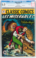 Golden Age (1938-1955):Classics Illustrated, Classic Comics #9 Les Miserables - First edition - Vancouver pedigree (Gilberton, 1943) CGC FN 6.0 White pages....
