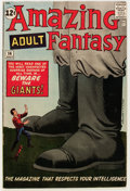Silver Age (1956-1969):Science Fiction, Amazing Adult Fantasy #14 (Marvel, 1962) Condition: FN+....