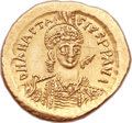 Ancients:Byzantine, Ancients: Anastasius I (AD 491-518). AV solidus (21mm, 4.49 gm, 6h). ...