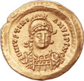 Ancients:Byzantine, Ancients: OSTROGOTHIC ITALY. Athalric (AD 526-534). AV solidus(21mm, 4.43 gm, 6h). ...