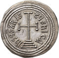 Ancients:Byzantine, Ancients: Theophilus (AD 829-842). AR miliaresion (25mm, 2.12 gm,12h)....