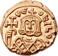 Ancients:Byzantine, Ancients: Theophilus (AD 829-842). AV solidus (16mm, 3.84 gm,6h). ...