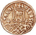 Ancients:Byzantine, Ancients: Theophilus (AD 829-842). EL solidus (22mm, 4.09 gm,6h). ...