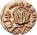 "Ancients:Byzantine, Ancients: Michael III ""the Drunkard"" (AD 842-867). AV semissis(13mm, 1.68 gm, 6h). ..."