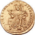 Ancients:Byzantine, Ancients: Romanus I Lecapenus (AD 920-944), with Constantine VIIPorphyrogenitus (AD 913-959) and Christopher. AV solidus (20mm,4.32 gm...