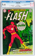 Silver Age (1956-1969):Superhero, The Flash #188 Don/Maggie Thompson Collection pedigree (DC, 1969) CGC NM 9.4 White pages....
