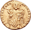 Ancients:Byzantine, Ancients: Constantine VII Porphyrogenitus (AD 913-959), withRomanus I Lecapenus (AD 920-944). AV solidus (19mm, 4.38 gm,6h)....
