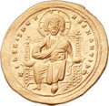 Ancients:Byzantine, Ancients: Romanus III Argyrus (1028-1034). AV histamenon nomisma(24mm, 4.43 gm, 6h). ...