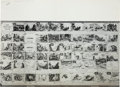 Animation Art:Production Drawing, Make Mine Music Printed Animation Storyboard Group (WaltDisney, 1946).... (Total: 5 Original Art)