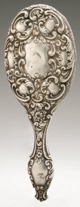 Silver Holloware, British:Holloware, An English Silver Hand Mirror. Maker unknown, Chester, England,1898. Hallmarks to the reverse with unknown makers mar...
