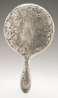 Silver Holloware, American:Mirrors and Vanity-related , An American Silver Hand Mirror. Eastwood-Park Co., Newark, NJ,Early Twentieth Century. Monogram to the reverse KRM,...