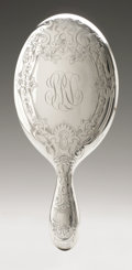 Silver Holloware, American:Mirrors and Vanity-related , An American Silver Hand Mirror. Gorham, Providence, RI, EarlyTwentieth Century. Script monogram to the reverse SRL,...