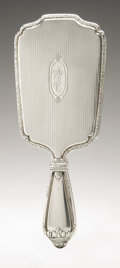 Silver Holloware, American:Mirrors and Vanity-related, An American Silver Hand Mirror And Brush. International Silver Co.,Meriden, CT, Early Twentieth Century. Monogram to ... (Total: 2Items)