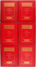 Books:Music & Sheet Music, [Music]. Selections from Favorite Operas for the Piano. New York: G. Schirmer, 1897-1910. Six quarto volumes only (o... (Total: 6 Items)