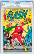 Silver Age (1956-1969):Superhero, The Flash #192 Don/Maggie Thompson Collection pedigree (DC, 1969) CGC NM 9.4 White pages....