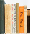 Books:Reference & Bibliography, [Frost, Shelley, Burns, Pound et al]. Group of Seven Bibliographiesand Reference Books. Various publishers and dates. Publi... (Total:7 Items)