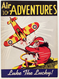 Air Adventures V1#1 (Gordon Publishing Co., c. 1944) Condition: FN/VF