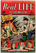 Golden Age (1938-1955):Non-Fiction, Real Life Comics #18 (Nedor Publications, 1944) Condition: VF....