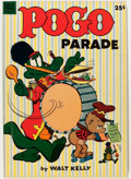 Golden Age (1938-1955):Funny Animal, Dell Giant Comics: Pogo Parade #1 (Dell, 1953) Condition: FN+....