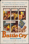 "Movie Posters:War, Battle Cry (Warner Brothers, 1955). One Sheet (27"" X 41""). War....."