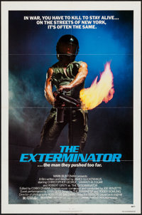 """The Exterminator & Others Lot (Avco Embassy, 1980). One Sheets (4) (21.25"""" X 31"""" & 27"""" X 41""""..."""