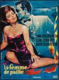 """Movie Posters:Crime, Woman of Straw (United Artists, 1964). French Grande (45"""" X 61"""").Crime.. ..."""