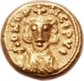 Ancients:Byzantine, Ancients: Constantine IV (AD 668-685). AV solidus (12mm, 4.33 gm, 6h)....