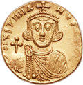 Ancients:Byzantine, Ancients: Justinian II, first reign (AD 685-695). AV solidus (20mm,4.41 gm, 6h)....