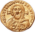 Ancients:Byzantine, Ancients: Justinian II, first reign (AD 685-695). AV solidus (20mm,4.49 gm, 6h)....