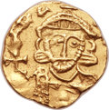 Ancients:Byzantine, Ancients: Leo III the Isaurian (AD 717-741), with Constantine V (AD720-775). AV semissis (15mm, 1.92 gm, 6h)....