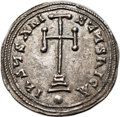 Ancients:Byzantine, Ancients: Basil I the Macedonian (AD 867-886), with Constantine. ARmiliaresion (23mm, 2.84 gm, 12h)....