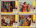 """Movie Posters:Sports, Champion (United Artists, 1949). Lobby Cards (4) (11"""" X 14""""). Sports.. ... (Total: 4 Items)"""