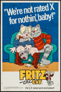 "Movie Posters:Animation, Fritz the Cat (Cinemation Industries, 1972). First Release Special Promotional Poster (18"" X 27""). Animation.. ..."