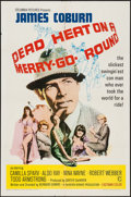 """Dead Heat on a Merry-Go-Round (Columbia, 1966). One Sheet (27"""" X 41"""") & Lobby Cards (8) (11"""" X 14&quo..."""