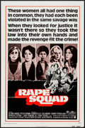 "Movie Posters:Crime, Rape Squad (American International, 1974). One Sheet (27"" X 41"") & Lobby Cards (5) (11"" X 14""). Crime.. ... (Total: 6 Items)"