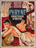 "Movie Posters:Foreign, Frine, Courtesan of the Orient (Zeus Film, 1954). French Grande (47"" X 63""). Foreign.. ..."