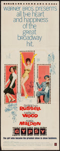 "Movie Posters:Musical, Gypsy (Warner Brothers, 1962). Insert (14"" X 36""). Musical.. ..."